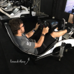 Fernando Alonso racing with Playseat® F1 White at F1 Gamezone
