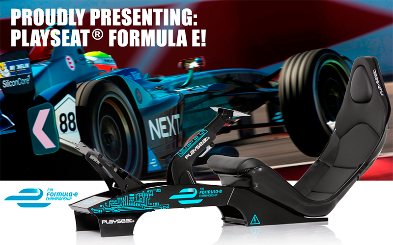 Proudly presenting: Playseat® Formula E