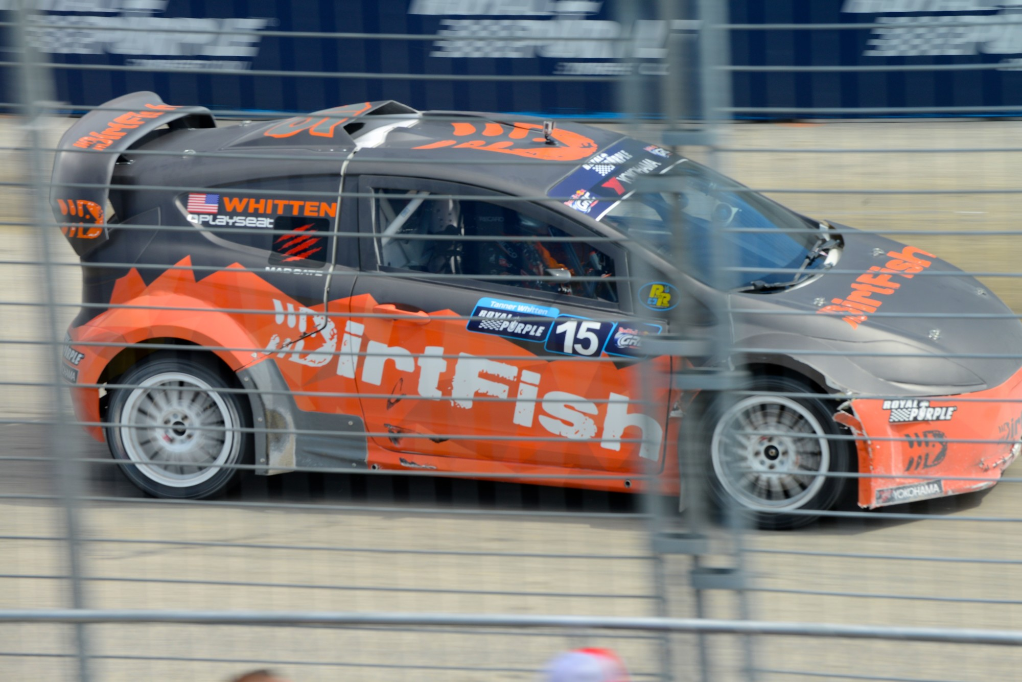 DirtFish on the track