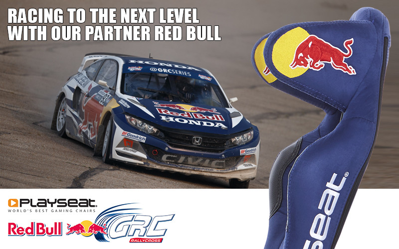 Playseat® and Red Bull: partners is racing