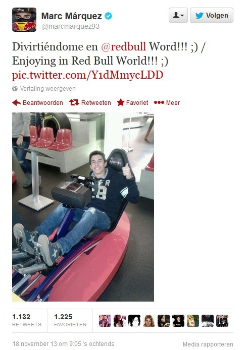 Marq Marquez Red Bull Playseat ®